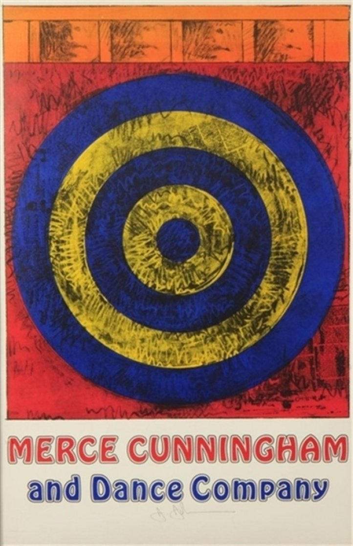 Target For Merce Cunningham (Signed) 1968 HS Limited Edition Print by Jasper Johns