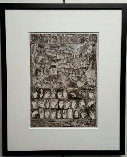 Untitled (A.I.A. Print Project) 2013 Limited Edition Print - Jasper Johns
