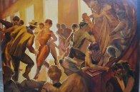 Interlude 45x34 Super Huge Original Painting by David Richey Johnsen - 1