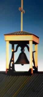 Placitas Bell 2006 39x23 Original Painting by Roger Hayden Johnson