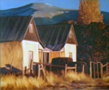 Golden Oldie 2001 46x36 Huge Original Painting - Roger Hayden Johnson