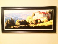 Above Florence, Italy Limited Edition Print by Roger Hayden Johnson - 2