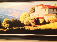 Above Florence, Italy Limited Edition Print by Roger Hayden Johnson - 3