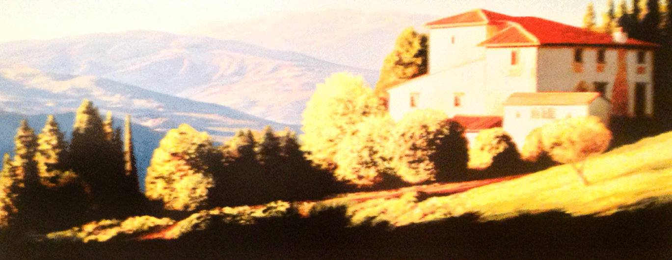 Above Florence, Italy Limited Edition Print by Roger Hayden Johnson