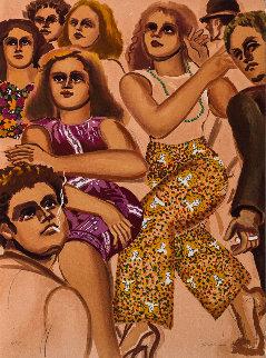 Street Scene Slacks 1979 Limited Edition Print by Lester Johnson