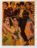 Street Scene 4 1978 Limited Edition Print by Lester Johnson - 1