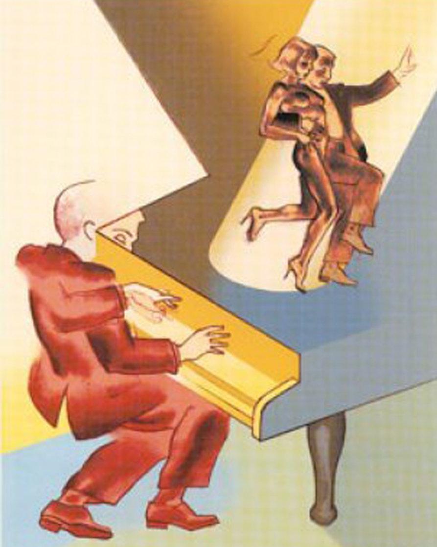Come Dancing 2003 Limited Edition Print by Allen Jones