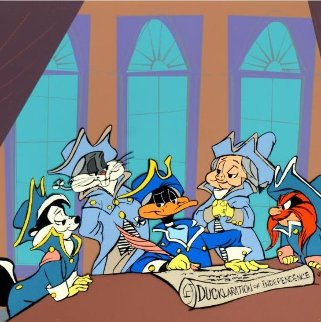 Ducklaration 1990 Limited Edition Print by Chuck Jones