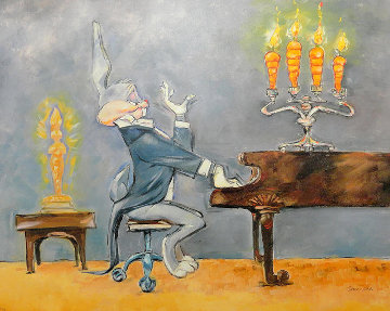 Bugs At Piano AP  Limited Edition Print by Chuck Jones