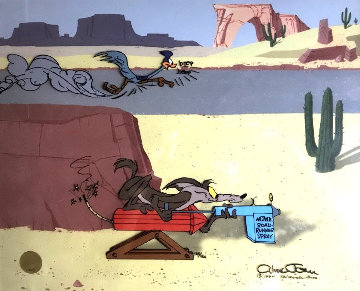 Acme Roadrunner Spray 1994 Limited Edition Print by Chuck Jones
