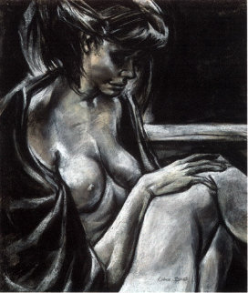 Seated Nude 1998 Limited Edition Print by Chuck Jones