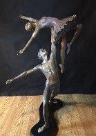 Mid Summer Nights Dream Bronze Sculpture 1996 38 in Sculpture by Jerry Joslin - 1