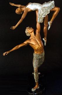 Mid Summer Nights Dream Bronze Sculpture 1996 38 in Sculpture by Jerry Joslin