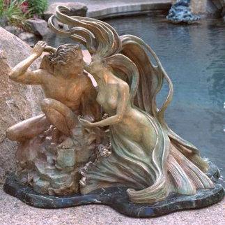 Where the Sea Caresses the Shore Sculpture Sculpture - Jerry Joslin