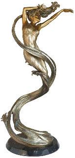 Spin Drift Bronze  Sculpture 57 in Huge Sculpture - Jerry Joslin