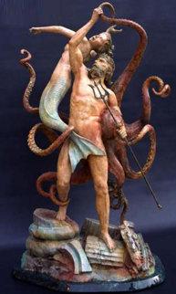 Ruins of Atlantis Bronze Sculpture 53 in Sculpture - Jerry Joslin