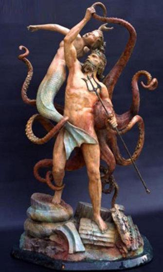 Ruins of Atlantis Bronze Sculpture 53 in Sculpture by Jerry Joslin