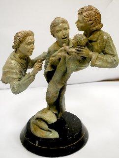 Generations Bronze Sculpture 1980 26 in Sculpture by Jerry Joslin