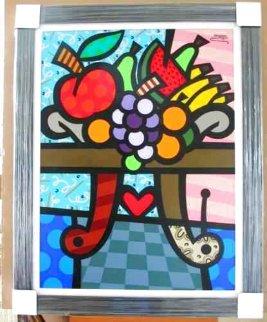 Fruit Salad 30x40 Huge Original Painting -  Jozza