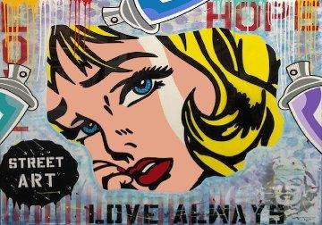 Love Always 2018 80x70 Original Painting by  Jozza