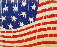 Usa Flag #3 2018 40x50 Super Huge Original Painting by  Jozza - 0