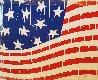 Usa Flag #3 2018 40x50 Original Painting by  Jozza - 0