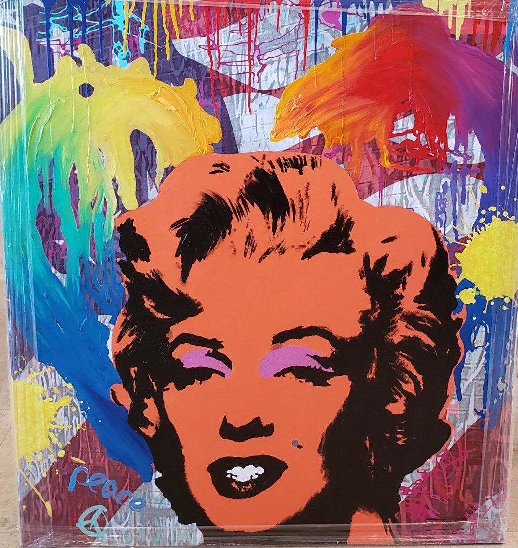 Marylin Suite #3 2018 40x36 Super Huge Original Painting by  Jozza