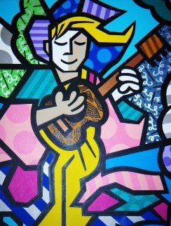 Guardian Angel 2008 60x48 Super Huge Original Painting -  Jozza