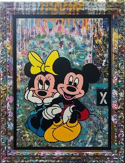 Mickey Minnie 2019 42x38 Original Painting -  Jozza