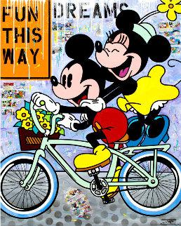 Free Ride 2019 60x48 Original Painting by  Jozza