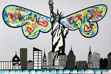 New York Guardian 2019 40x60 Original Painting -  Jozza