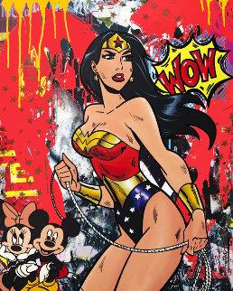 Super Power 2019 30x24 Original Painting -  Jozza