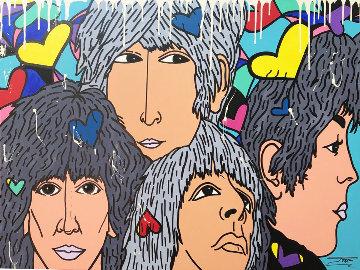 Beatles 2019 36x48 Huge Original Painting -  Jozza