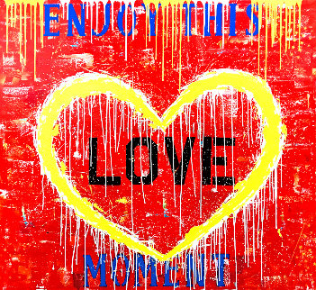 Enjoy the Moment 2019 56x60 Original Painting by  Jozza