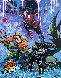 Batman 2020 48x40 Original Painting by  Jozza - 1