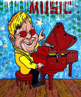 Music 2020 48x40 Super Huge Original Painting -  Jozza