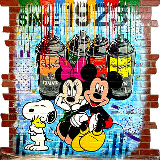 Since 1923 2020 64x64 Super Huge Original Painting -  Jozza