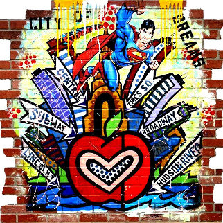City of Dreams 2020 64x64 Huge Original Painting -  Jozza