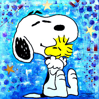 Snoopy 2020 36x36 Original Painting -  Jozza