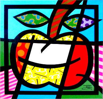 Azamara Apples 36x36  Original Painting -  Jozza