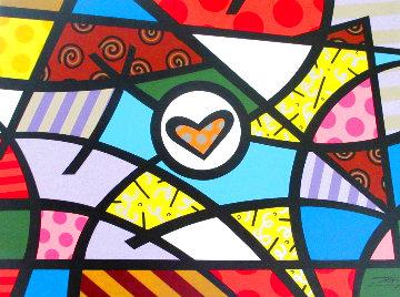 Landscape of Hearts 30x40 Original Painting -  Jozza