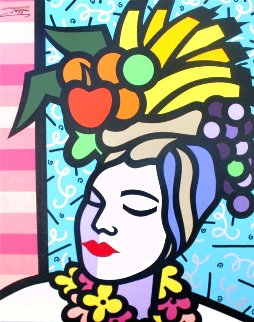 Carmen 30x24 Original Painting -  Jozza