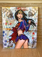 Total Super Girl 2019 48x40 Huge Original Painting by  Jozza - 1