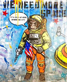 More Space 2021 48x40 Original Painting -  Jozza