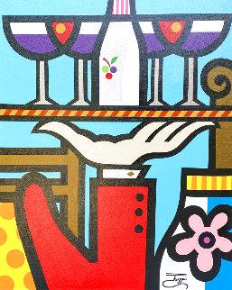 Wine Taste II 36x29 Original Painting -  Jozza