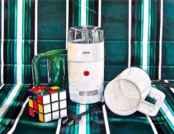 Heroic Materialism #1 29x23 Original Painting - Jeanette Pasin Sloan
