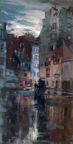 Morning Cab 2000 36x24 Original Painting by Stephen Juharos