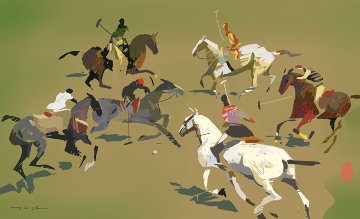 Polo Match 2012 Limited Edition Print by Ju Hong Chen