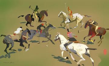 Polo Match 2012 Limited Edition Print - Ju Hong Chen
