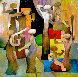 Soap Opera 72x72 Original Painting by Ju Hong Chen - 0